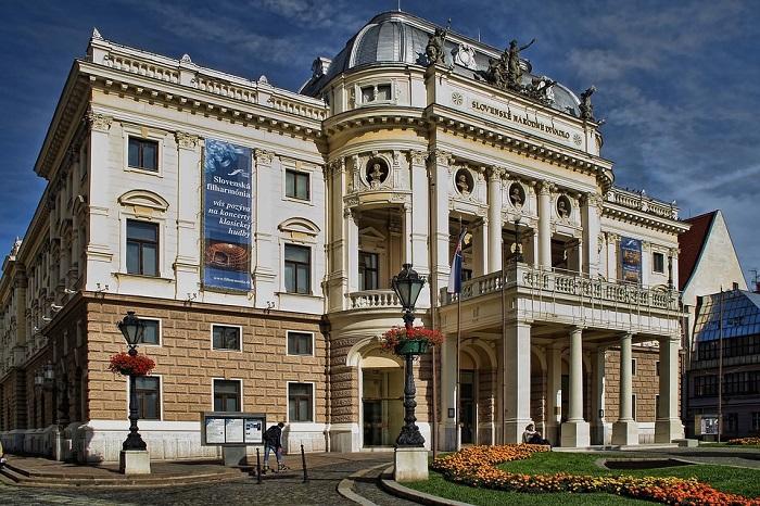 Slovak National Theatre,, em Bratislava