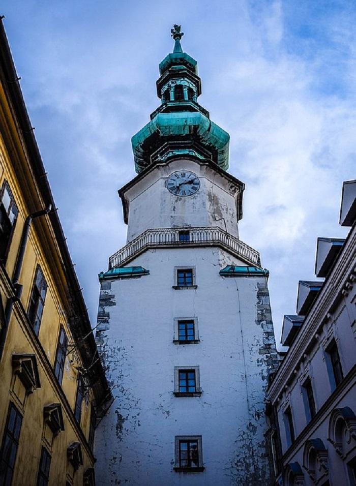 Portão de São Miguel, em Bratislava