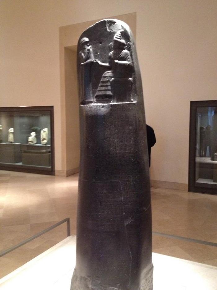 Código de Hamurabi, Louvre, Paris