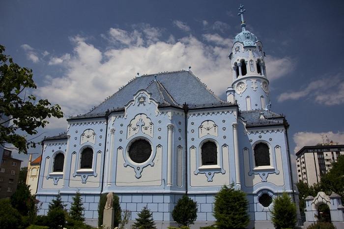 Igreja azul, em Bratislava