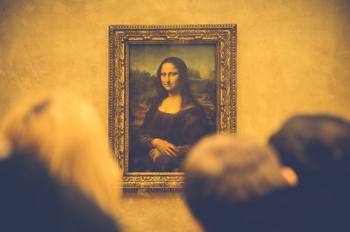 Mona Lisa, Louvre, Paris