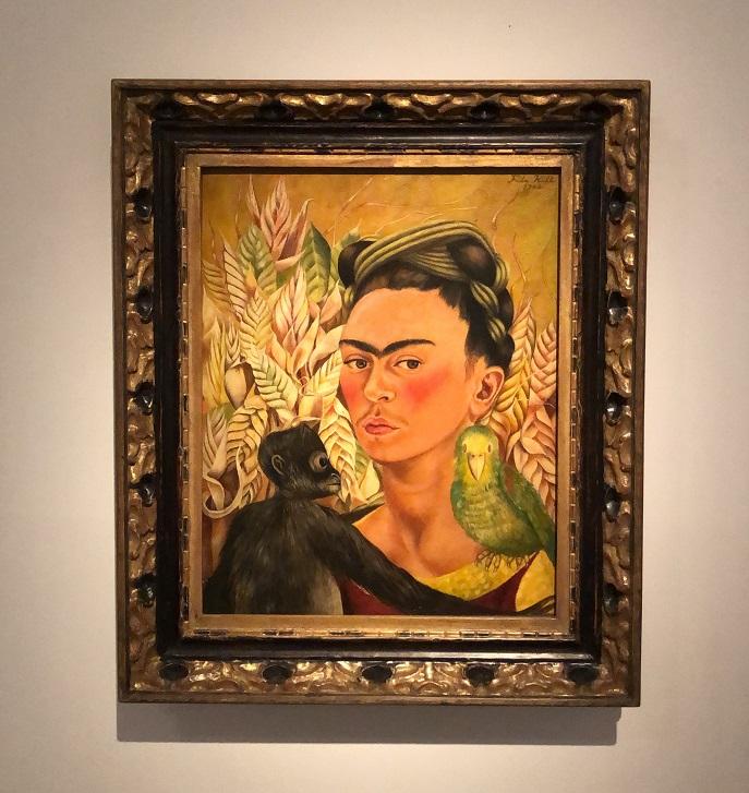 O Auto-retrato de Frida Kahlo, no MALBA, em Buenos Aires