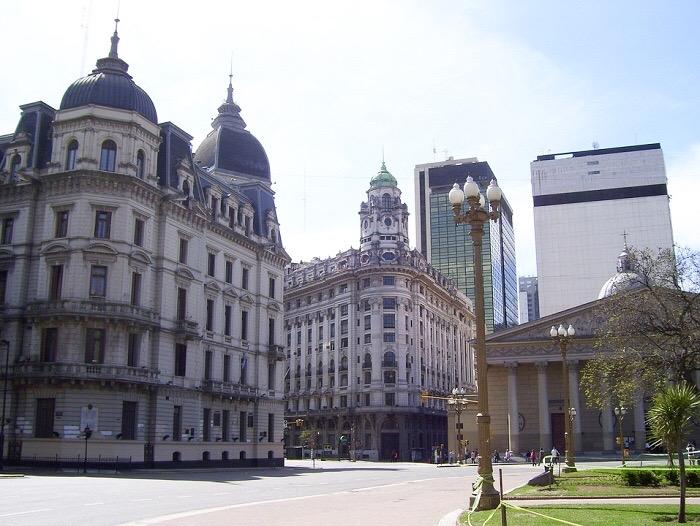 arquitetura clássica em Buenos Aires