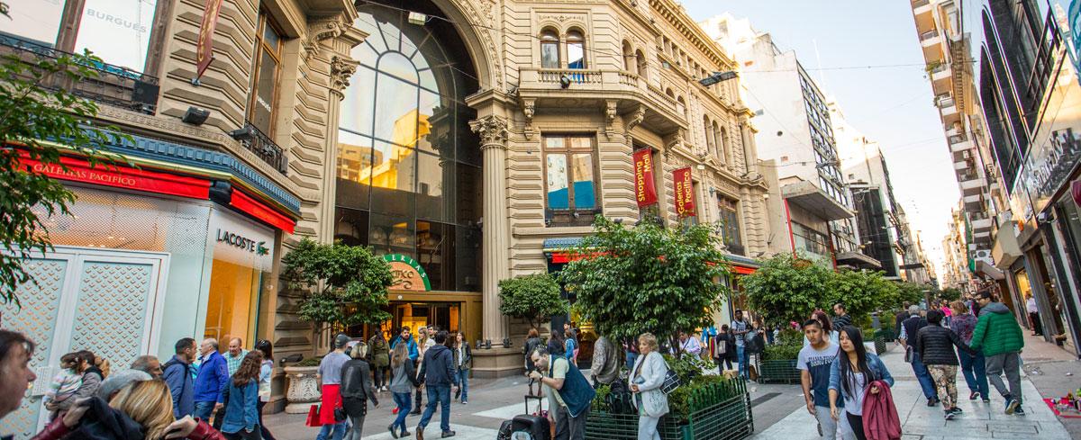 Galerías Pacífico, na Calle Florida, em Buenos Aires