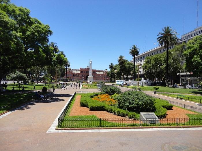 Plaza de Mayo, em Buenos Aires