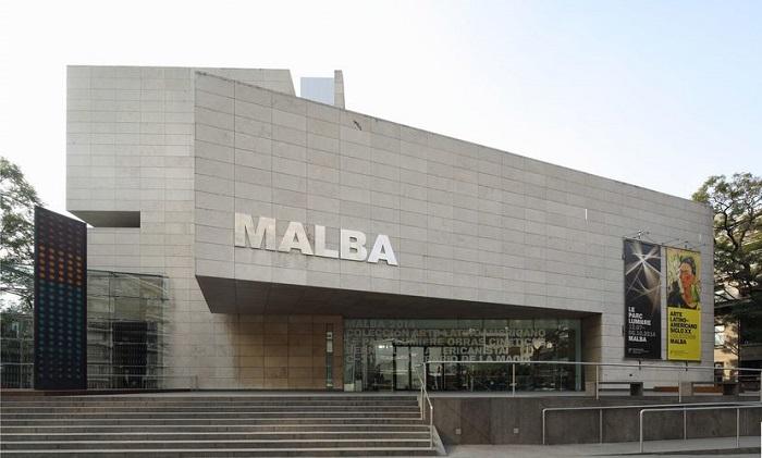 Faixada do MALBA