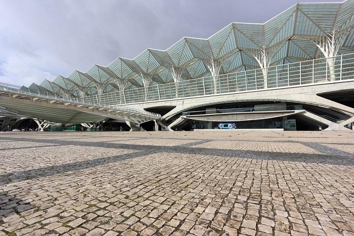 A beleza da Estação Oriente reforça o prazer da visita ao Parque das Nações