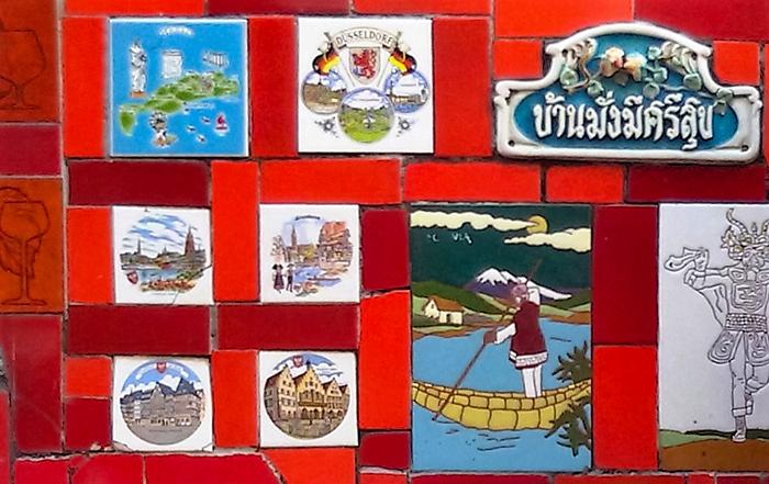 Os azulejos da Escadaria Salarón, trazidos de mais de 60 países