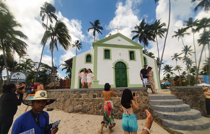 Praia dos Carneiros, em Tamandaré, Pernambuco