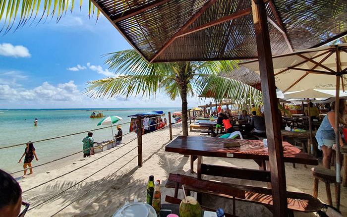 Bora Bora, na Praia de Carneiros, em Tamandaré, Pernambuco
