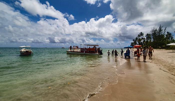 Praia de Carneiros, em Tamandaré, Pernambuco