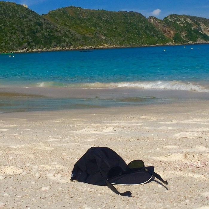 Reserve um tempo para contemplação da Praia da Ilha do Faro em Arraial do Cabo