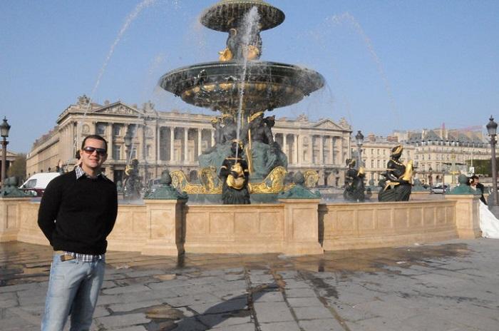 La Fontane de Mers, em Paris