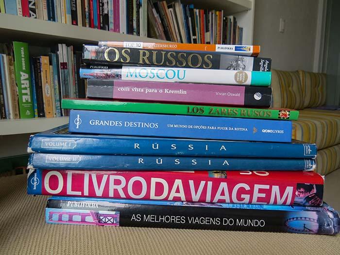 Livros para viajar para a Rússia