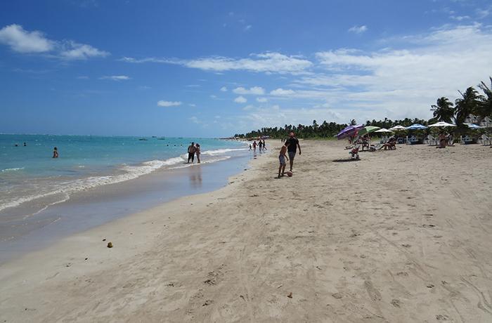 Praia do Antunes, em Maragogi, Alagoas