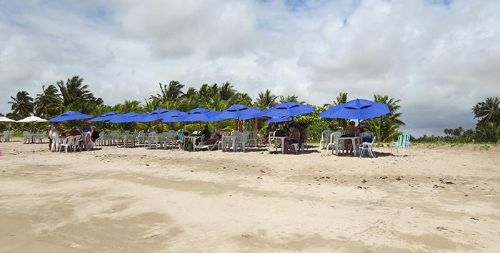 Marinheiro's Beach em Maragogi, Alagoas