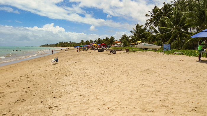 Praia de Peroba, em Maragogi, Alagoas