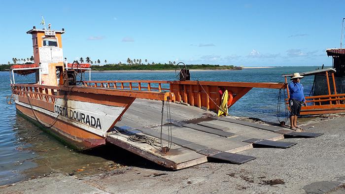 Balsa em Porto de Pedras, Alagoas