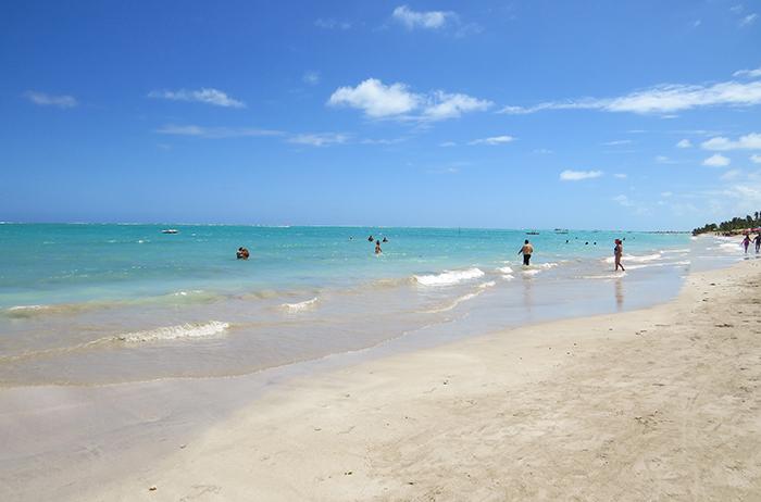 O mar de Maragogi, Alagoas