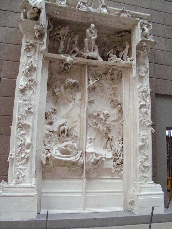 Museu D'Orsay e a Porta do Inferno