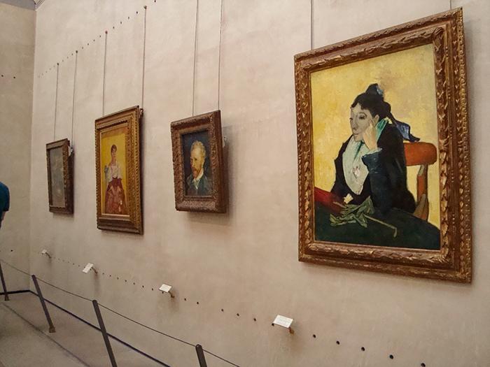 Quadro L'Arlésienne no Museu D'Orsay, em Paris.