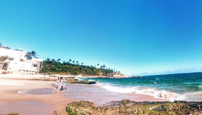Praia do Buracão, Rio Vermelho, Salvador, Bahia