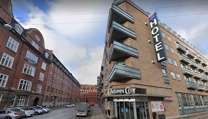 Cabinn City Hotel, em Copenhague, Dinamarca