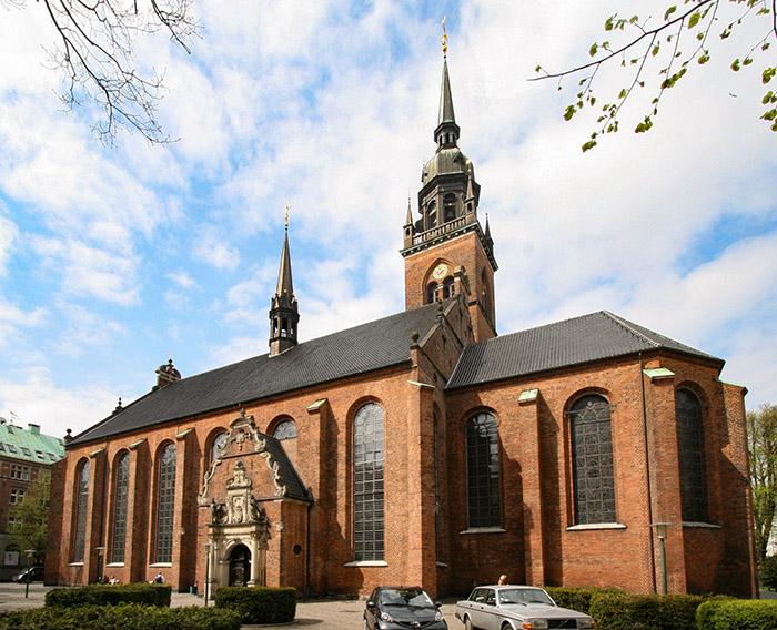 Helligåndskirken, Copenhague, Dinamarca