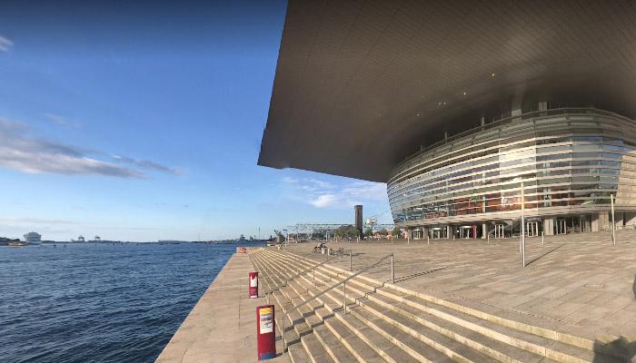 Opera Nacional da Dinamarca, em Copenhague.