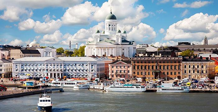 Porto de Helsinque, Finlândia