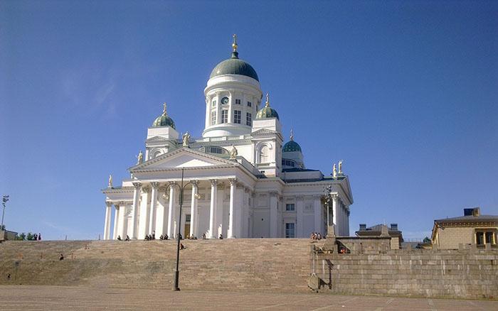 Catedral Luterana, em Helsinque, Finlândia
