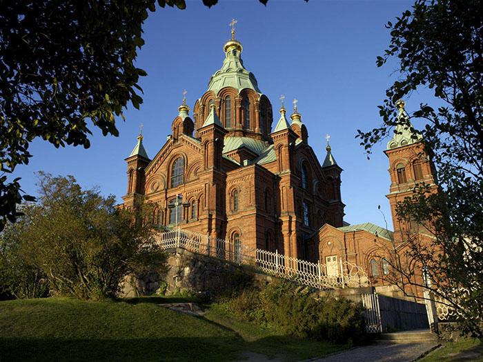 Catedral Uspenski, em Helsinque, Finlândia