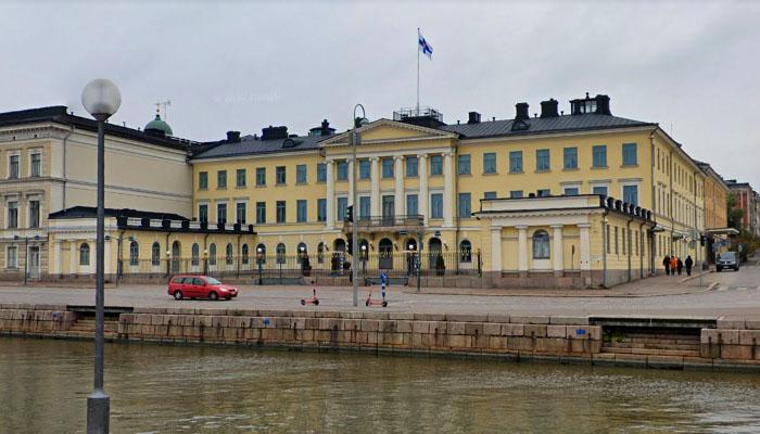 Palácio Presidencial, em Helsinque, Finlândia