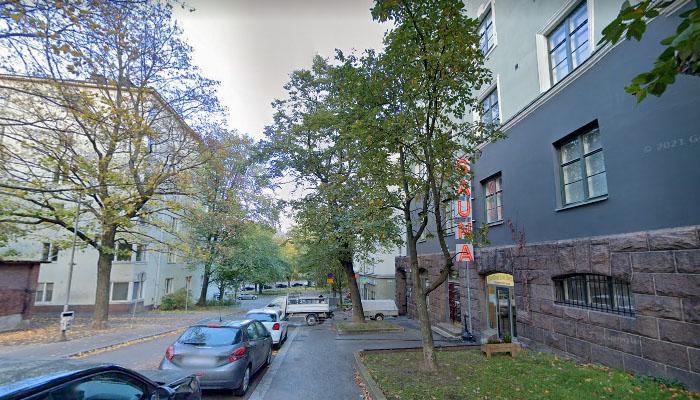 Kotiharju Sauna em Helsinque, Finlândia.