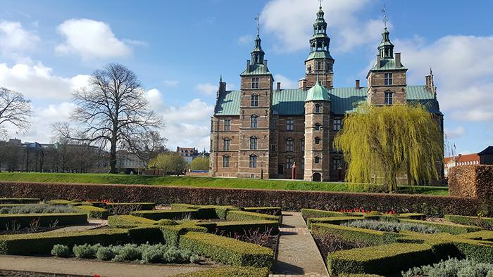 Rosemborg Castle em Copenhague, Dinamarca